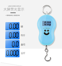 Mini Spring Scale Spring Balance Portable Hanging Luggage Scale
