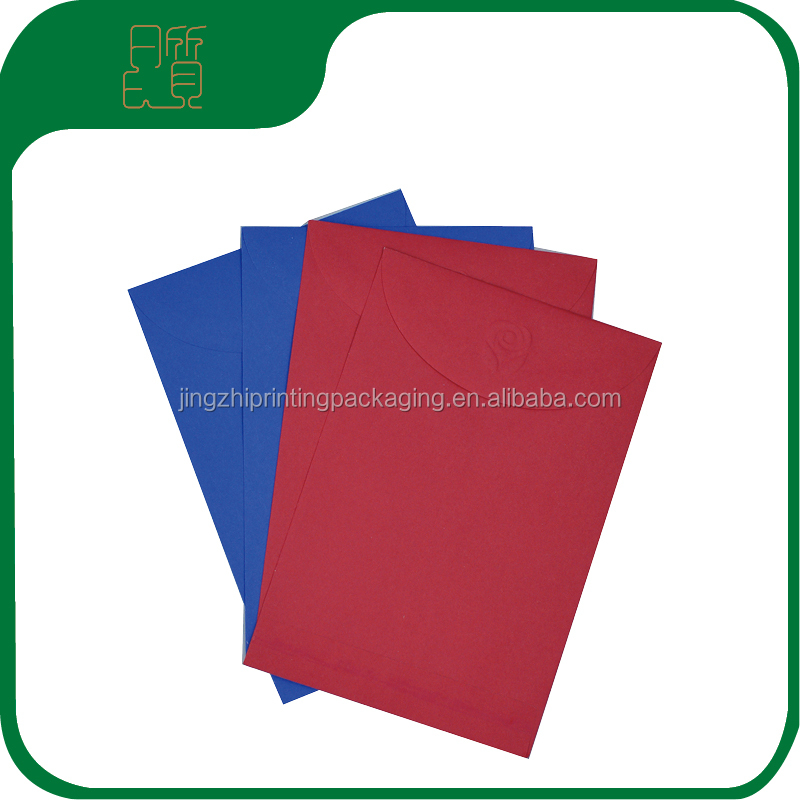 China Suppliers Shanghai Custom Printed Wholesale High Quality Luxury Fancy Handmade Designer Paper Envelopes