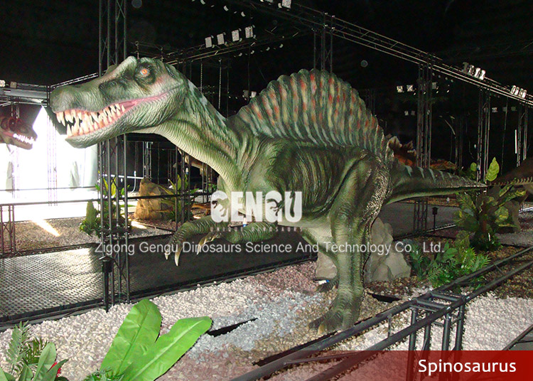 animatronic dinosaur model for indoor center
