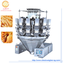 Moringa tea bags vertical packing filling machine with automatic multihead weigher