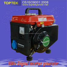 Digital inverter system 800w small gasoline generator