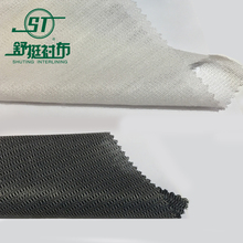 knitted fusible interlining tailoring material
