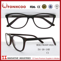 FONHCOO Wholesale Hot Selling Simple Design Classic Acetate Optical Eyeglasses Frames