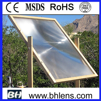 BHPA880-2 1000* 1000mm Large Fresnel Lens solar concentrator
