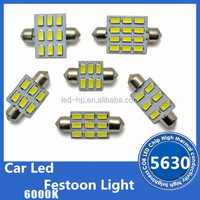All Kinds Of Festoon Dome Light Bulbs With 5630 SMD Led