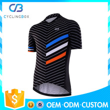 2017 wholesale custom breathable cycling jersey, sublimation printing hot selling