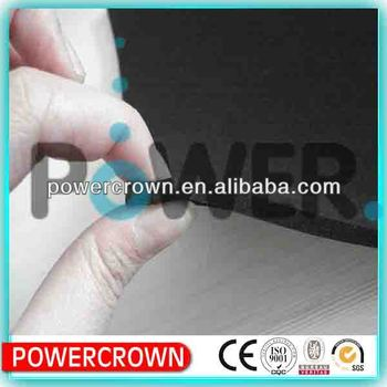 black rubber foam insulation material /Cell flexible Insulation Sheet Rubber Foam