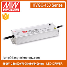 Meanwell HVGC-150-1400A Constant Current 1400mA 150W Waterproof LED Driver