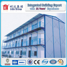 prefabricated accommodation/prefabicated modern modular house/portable temporary housing