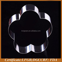 cake decorations stainless steel cookie cutter, cake mold