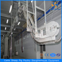 Cattle beef carcass lifting machine