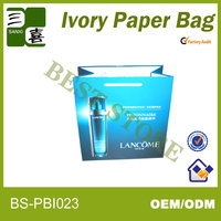 Superior cosmetic packaging paper bag