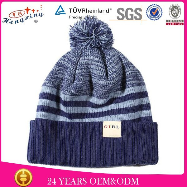 2015 winter ski pom pom wholesale cashmere beanie hats