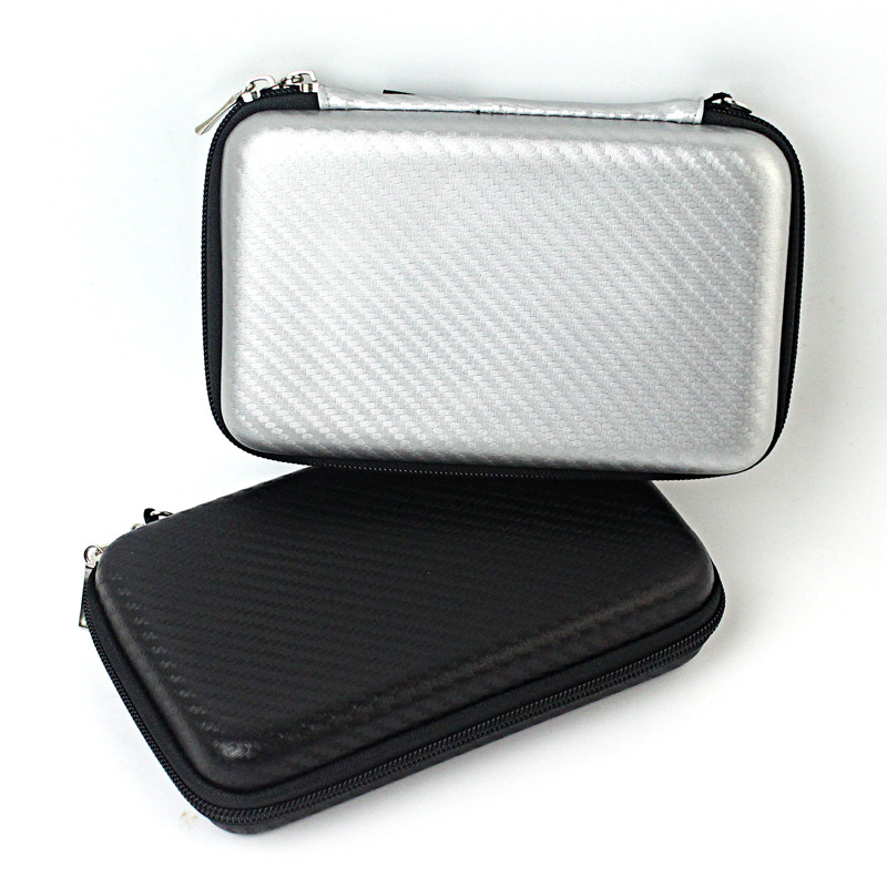 Ultra compact small hard EVA foam pouch storage case with handle for phone SD card USB camera HDD case