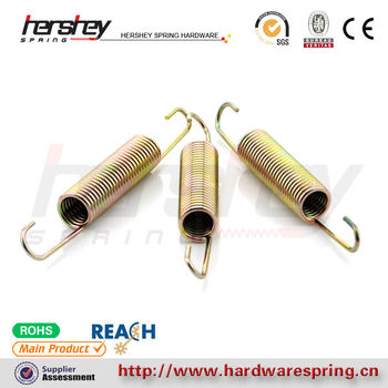 Hot Retractable Flat Heavy Duty Copper Small Spring
