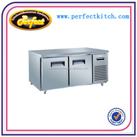 Stainless Steel Commercial Worktable Refrigerator/Work Bench Cooler/Fridge Counter