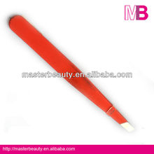 stainless steel cosmetic eyebrow fine point tweezers