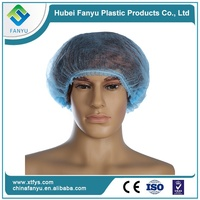 non-woven disposable printed bouffant cap