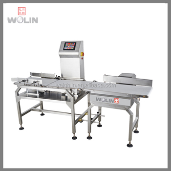 Convenient High Precision For Lettuce Check Weigher