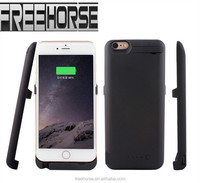 China supplier mobile phone accessory li-ion polymer 10000mAH power bank case for iphone 6 plus case power bank with certificat