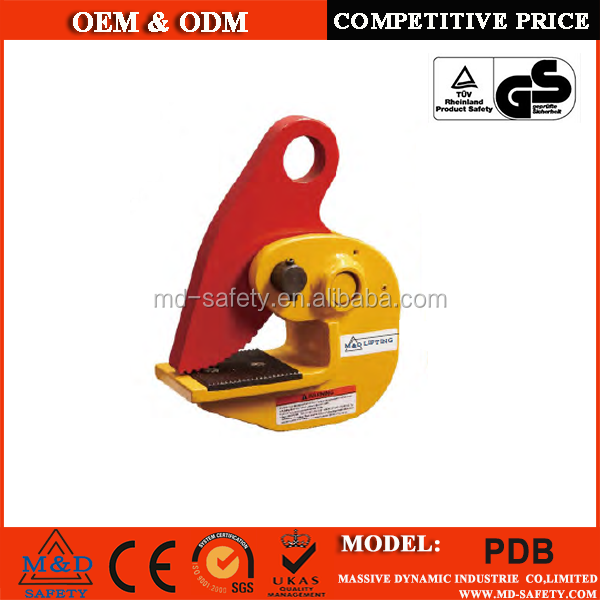 High quality horizontal plate clamps