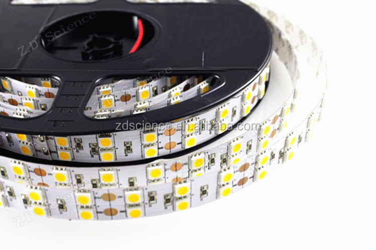 24V LED Strip Waterproof 300MP 3M Tape LED Strip Lighting 24V Dual Row LED Strip RGB