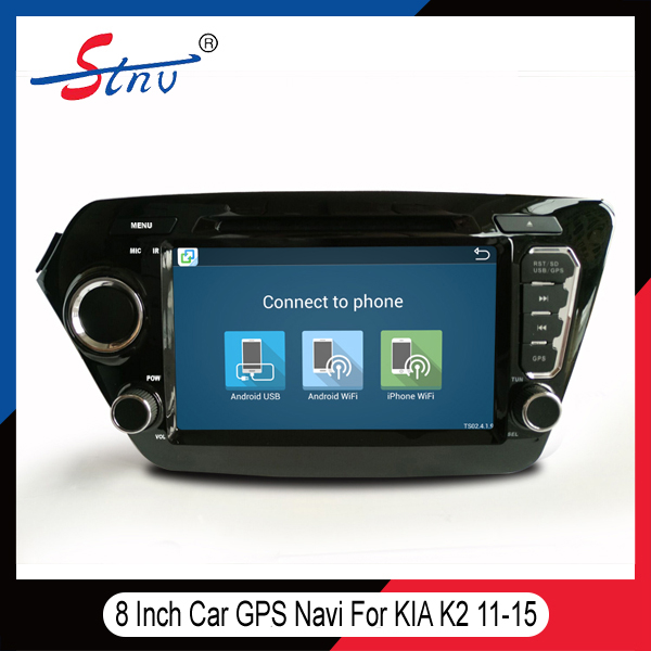 Promotional DVD Multimedia Receiver For KIAK2 With Auto Navigation