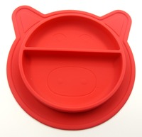 Hot Sale Non-Slip Heat-Resistant 100% Food Grade Silicone Products BPA free Custom Baby Placemat Plate
