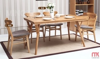 dining room furniture solid wood dining table and chair