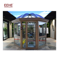 Energy Saving Tempered Insulated Glass Sunroom