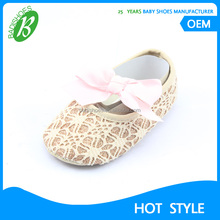 Wholesale baby girl cotton dress shoes 2017 infant soft moccasins shoes