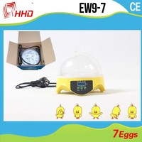 finch birds for sale Full Automatic CE approved Holding 7 Eggs mini egg incubator