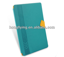 Blue business leather case for ipad air , for ipad air leather case