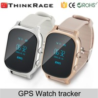 smart gps tracking system watch phone for kids Different Solar GPS Tracker