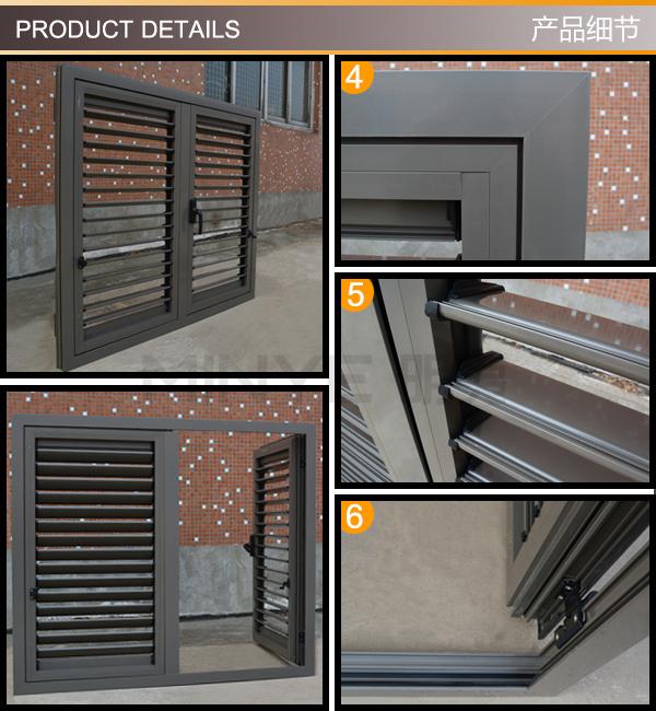 Aluminum shutter window with hinges exterior shutters - Aluminum window shutters exterior ...