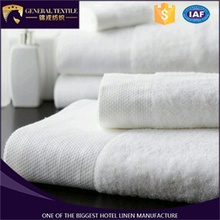 Hot sale 100% cotton 5 star 16s hotel towel set, white color hotel bath towel