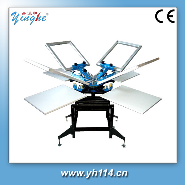 easy operation manual el panel screen printing machinery