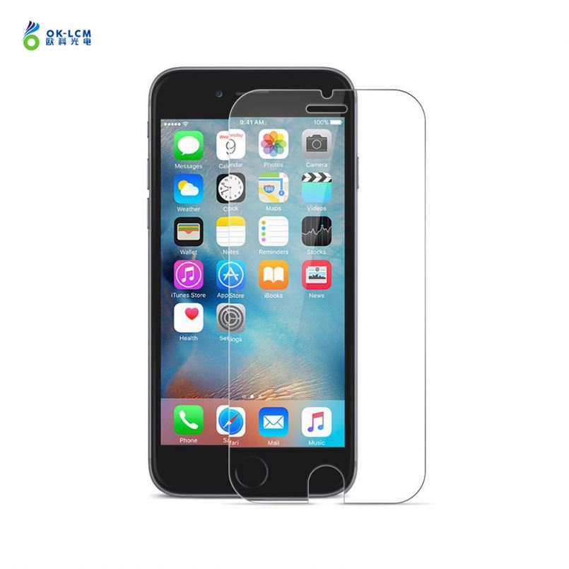 Japan blue film 4D 5D cold carving film phone glass screen protector for iphone 6 7