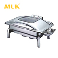 round design stainless steel buffet dinner use chafing dish