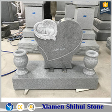 Wholesale Natural Stone Carve Baby Angel Tombstone