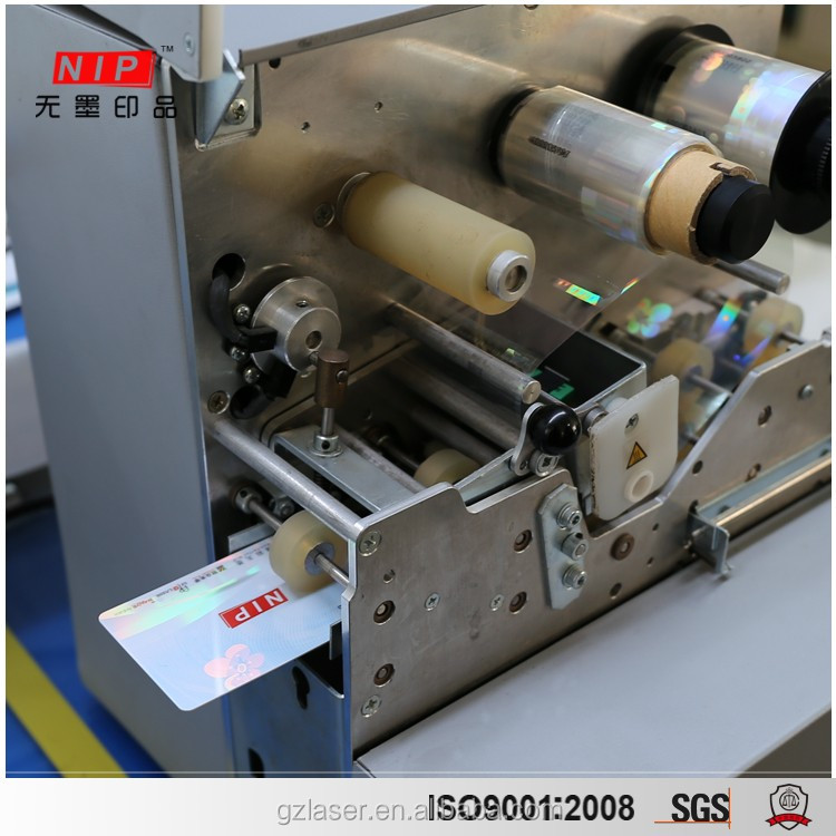 CR80 PVC Plastic Id Card Laminator Machine for Sale