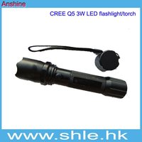 Police Using 3w rechargeable led flashlight