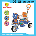 children tricycle popular baby trike with elephant musical head baby tricycle with canopy