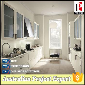 Cheap white solid wood modular kitchen cabinets for prefab for Cheap kitchen cabinets for mobile homes
