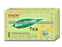 Natural health herbal tea for blood cleaning