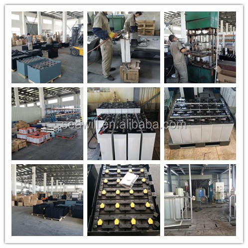 Forklift battery 24V 240Ah/24v 4VBS240 traction battery