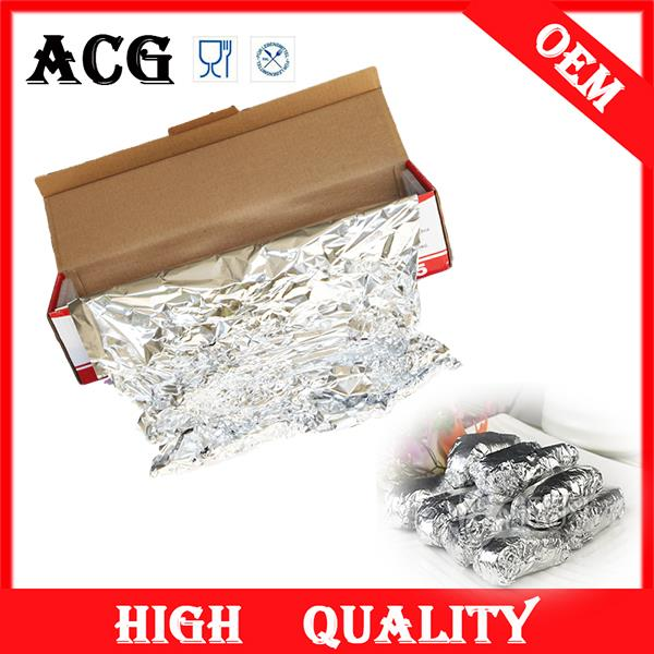 Food packing kitchen foil dispenser for food baking