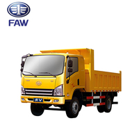FAW Tiger-V heavy duty 6 wheel mining dump truck 10 ton capacity
