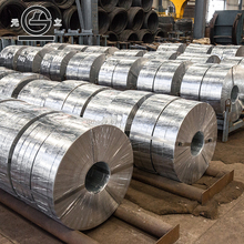 Hot Dipped Galvanized Zinc Rolled Steel Coil Steel Strip For Armoring Electrical Cables