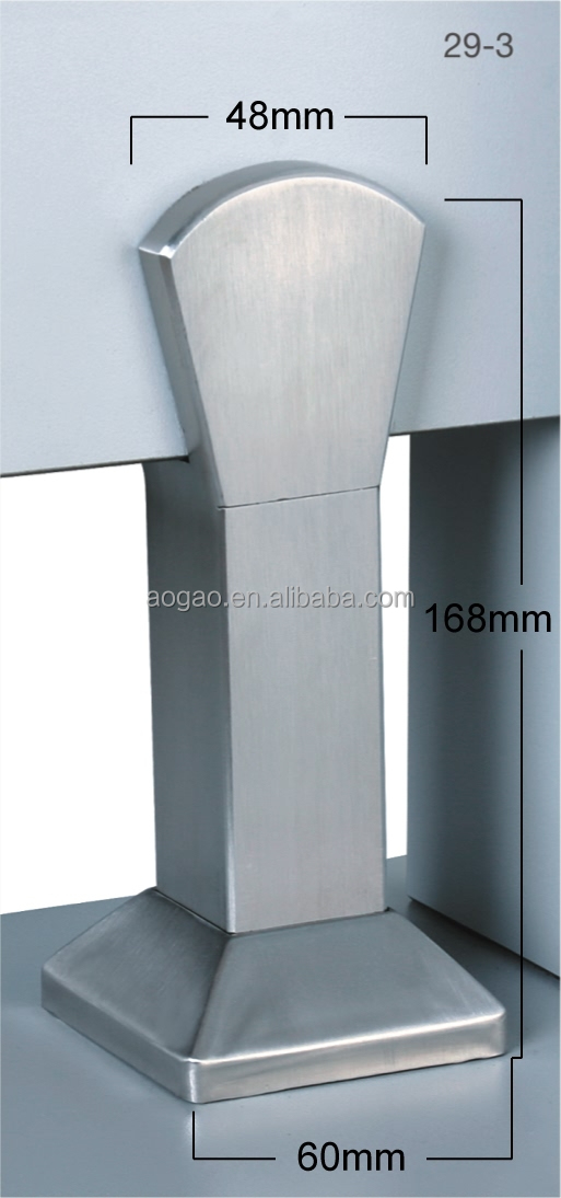Aogao 29-3 toilet partition stainless legs